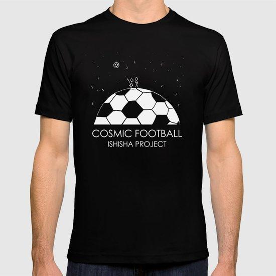 COSMIC FOOTBALL by ISHISHA PROJECT T-shirt