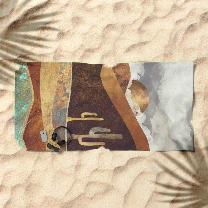 Patina Desert Beach Towel