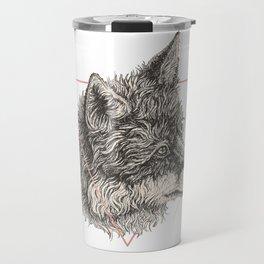 triangle fox Travel Mug