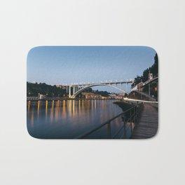 Arrabida bridge (II) Bath Mat