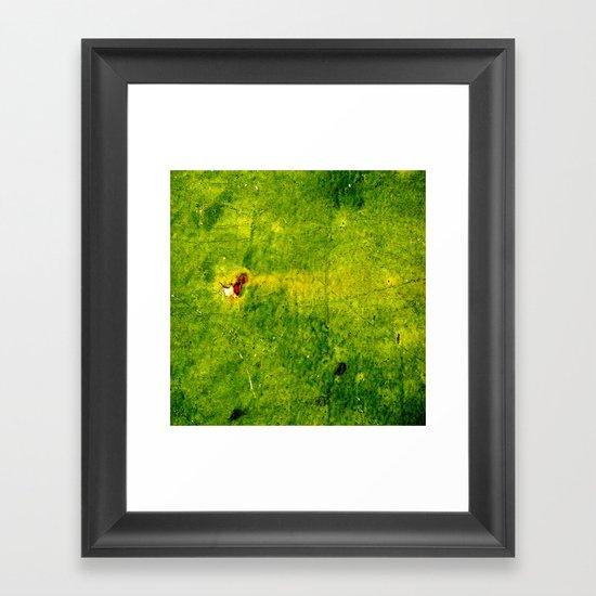 The Green Zone Framed Art Print