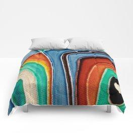 The Kandinsky's Chubby Bird 1 Comforters