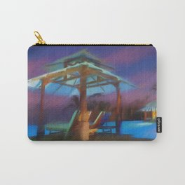 Tropical Nightscape Carry-All Pouch