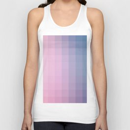 Lumen, Lilac and Blue Glow Unisex Tank Top
