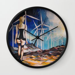 Non fermarti adesso / Do not stop now Wall Clock