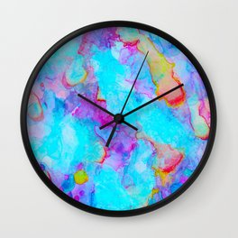 ocean marble Wall Clock