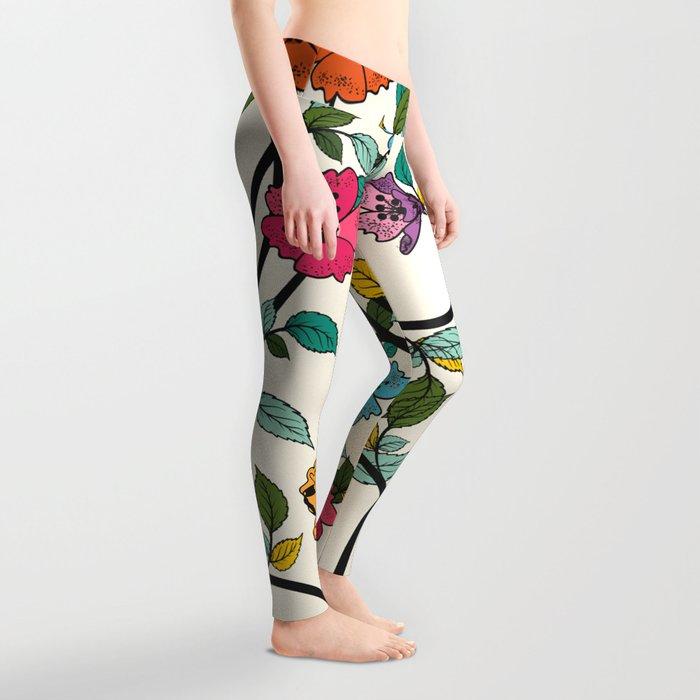 Fleurs Leggings