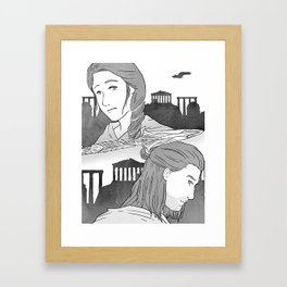 ACInktober - Choice Framed Art Print