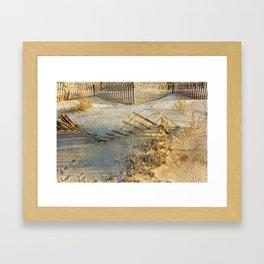 Sand Designs Framed Art Print