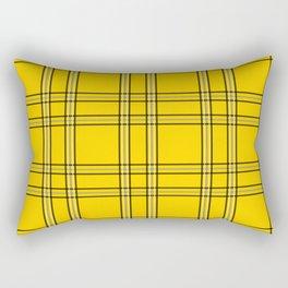 Clueless Plaid Rectangular Pillow