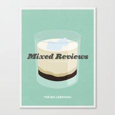 Mixed Reviews - The Big Lebowski Canvas Print