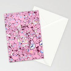 SO MANY PINK PUFFS Stationery Cards