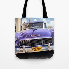 Purple Chevy Tote Bag