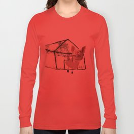 The three little pigs (ANALOG zine) Long Sleeve T-shirt