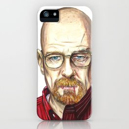 I am the one who knocks. iPhone Case