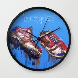 Brogues Wall Clock