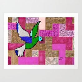 Peace Dove #2 Art Print