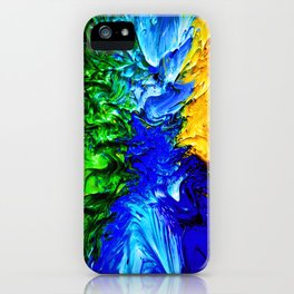 """Gas Flame"" Digital Print iPhone Case"