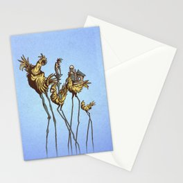 Dali Chocobos Stationery Cards