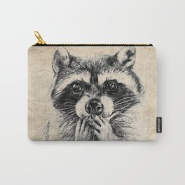 Surprised raccoon Carry-All Pouch