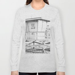Life guard stand Long Sleeve T-shirt