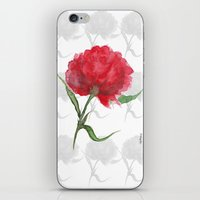 peony iPhone & iPod Skins featuring Peony by Gosia&Helena
