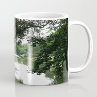 central park Mugs featuring Central Park by Jess H