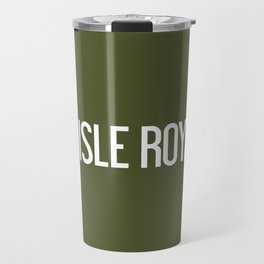 Isle Royale Moose Travel Mug