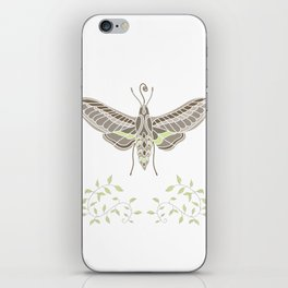 Hummingbird Hawk-Moth iPhone Skin