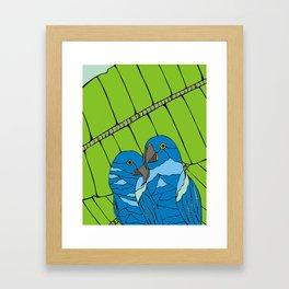 Parrots Framed Art Print