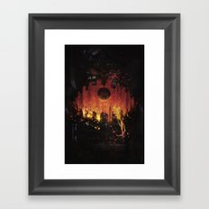 The Core Framed Art Print