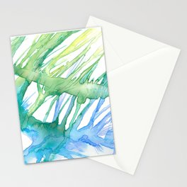 Multilayered forest Stationery Cards