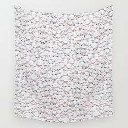 FIND THE PANDA - LUCKY CAT Wall Tapestry