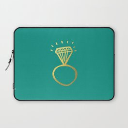 Diamond Ring Laptop Sleeve