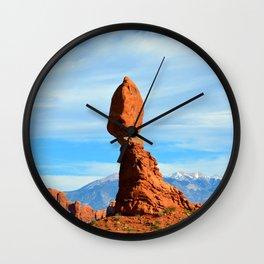 A day at Balanced Rock Wall Clock