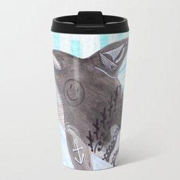 Killer Whale Ishmael Travel Mug