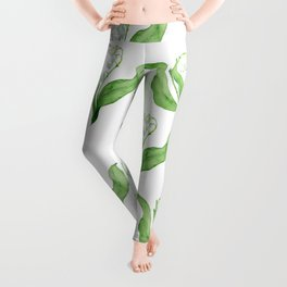 lily of the valley Leggings