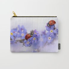 Ladybirds on Forget-me-not Carry-All Pouch