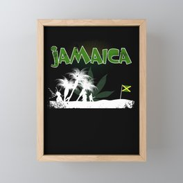 Jamaica Framed Mini Art Print