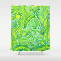 morocco Shower Curtains featuring Morocco by Zeryndipity