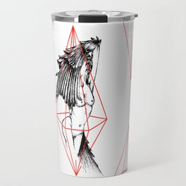 Feathered Nude 1 Travel Mug