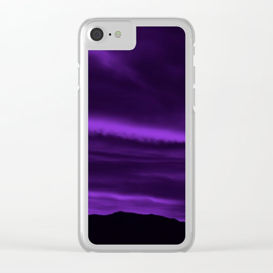 SW Velvet Morning Clear iPhone Case