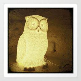 owl-y Art Print