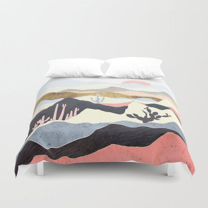 Desert Summer Duvet Cover