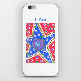 I Am a Star iPhone Skin