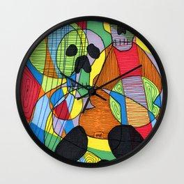 Skulls&Buddha 48 Wall Clock