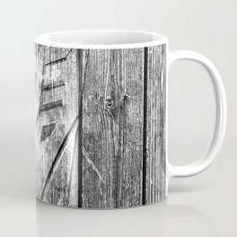 Decepticon Monochrome Wood Texture Coffee Mug