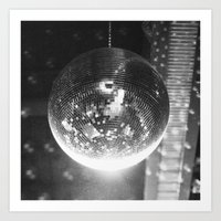 disco Art Prints featuring Disco by ....