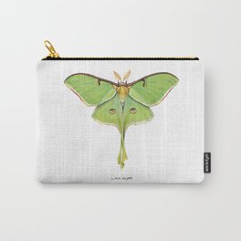Luna Moth (Actias luna) II Carry-All Pouch