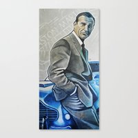 bond Canvas Prints featuring Bond by HUP126